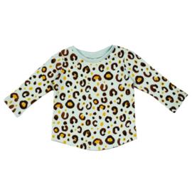 Long Sleeve | 'Leopard light mint'
