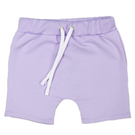 Shorts met touwtje   Purple rose