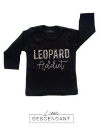 Kinder shirt luipaard print 1