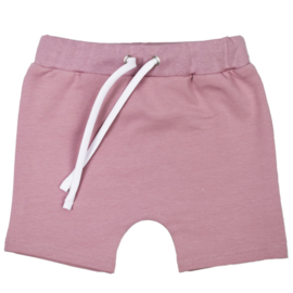 Shorts met touwtje   Mauve
