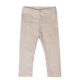 Legging | Cotton Rib | Sand