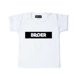 Grote broer shirt  'Broer'