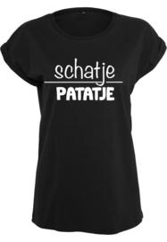 Dames shirt - ' Schatje Patatje'