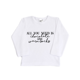 Kerst Shirt - All you need is ..