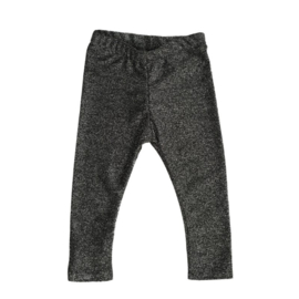 Slim fit broekje | Glitter