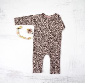 Newborn Boxpakje -Leopard old pink