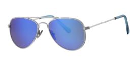 Kinder zonnebril - 0 tot 4 jaar D&D - Sophisticated -Silver/blue