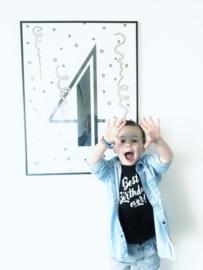 Verjaardag poster - kinderkamer