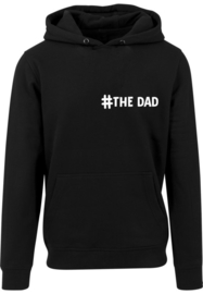 Heren Hoodie ' #the dad'