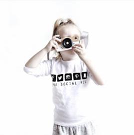 Shirt 'The social kid'