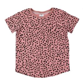 T-Shirt - Leopard rose