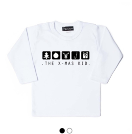 Kerst shirt - The x-mas kid'