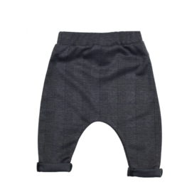 Harembroekje | Checkered Dark Grey |