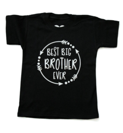 Grote broer shirt 'Best big brother ever'