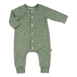 Newborn Boxpakje - Spots green