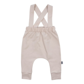 Suspender pants - nude
