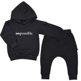 Hoodie pak | met zijvakje  - Possible (Verschillende kleuren)