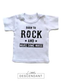Shirt 'Born to rock..'