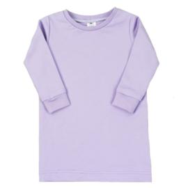 T-shirt Dress 'Purple Rose'