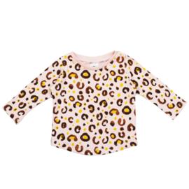 Long Sleeve | 'Leopard baby rose'
