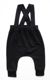 Suspender pants - zwart