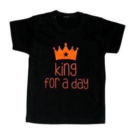 Koningsdag shirt kind - King for a day