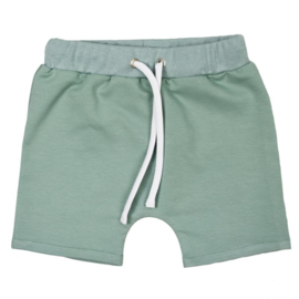 Shorts met touwtje   Minty Green