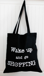 Shopper - 'Wake up and go shopping'