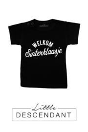 Sinterklaas shirt ' Welkom Sinterklaasje '