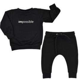 Jogging pakje 'Possible'  (verschillende kleuren)