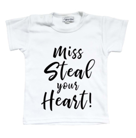 shirt 'miss steal your heart'