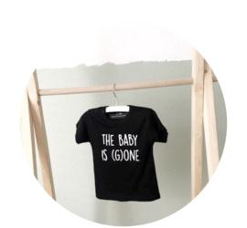 verjaardag shirt 1 jaar -  The baby is (g) one