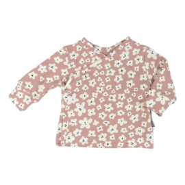 NEWBORN - Overslag Vestje Mini Flower Pink