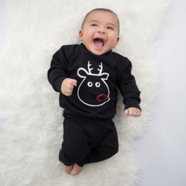 Kinder kerst sweater | Funny Rudolph