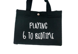 Vilten tas mini  'Playing 6 to bedtime'