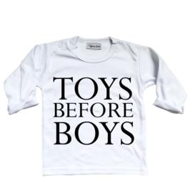 Shirt  'Toys before boys'