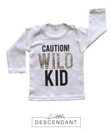 Kinder shirt luipaard print 4