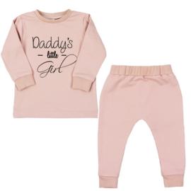 Jogging pakje 'Daddy's Little Girl'  (verschillende kleuren)