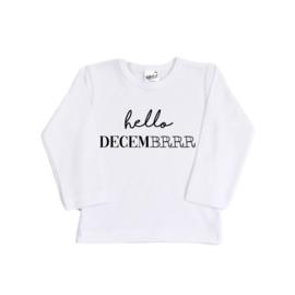 Kerst Shirt - hello decemberrrr