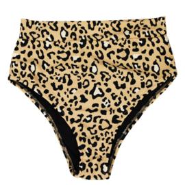 Dames Highwaist Bikini Broekje | Leopard  Dierenprint