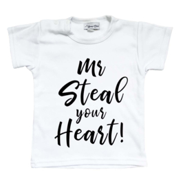 shirt 'mr steal your heart'