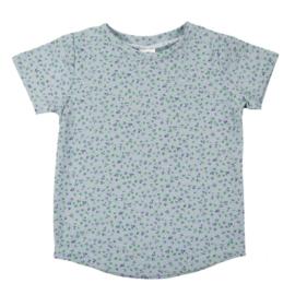 T-Shirt - Mini Flowers Old Green