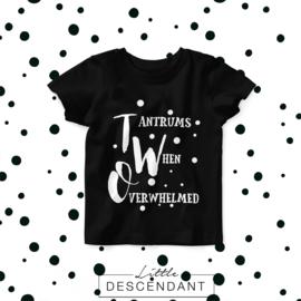 Verjaardag shirt 2 jaar- Tantrums When Overwelmed