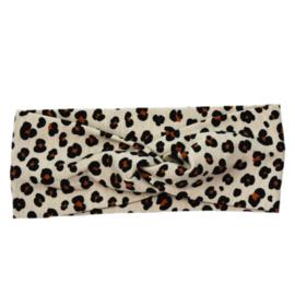 Haarband  - Mini leopard - twist