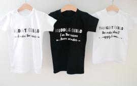 Duo shirts voor broer en zus