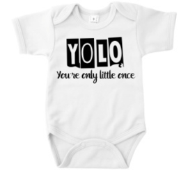 Romper YOLO Your only little once