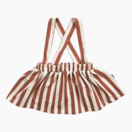 Suspender rokje - Vertical Rusty&Cream