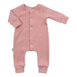 NEWBORN - Boxpakje - Baby Jumpsuit Rib Pink