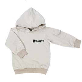 Kinder hoodie met klepzakje - #shorty (7 kleuren)