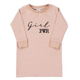 T-shirt dress Girl Power (7 kleuren)